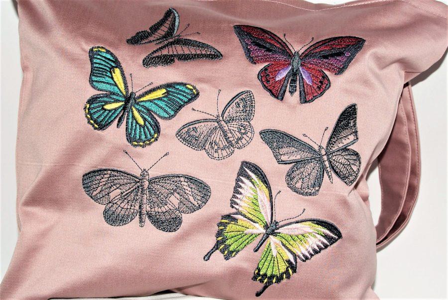 Бродерия - пеперуди