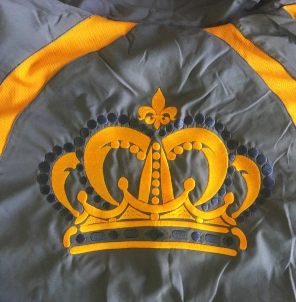 Бродерия корона