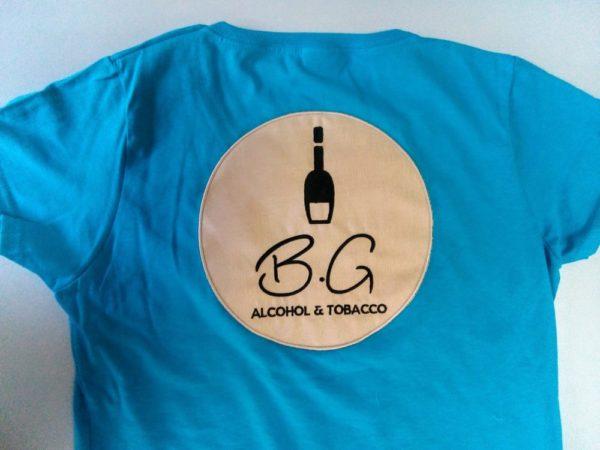 Бродерия + апликация върху тениски